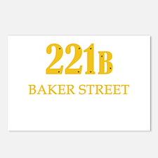 221 B Baker Street Postcards (Package of 8)
