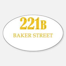 221 B Baker Street Decal