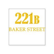 221 B Baker Street Sticker