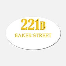 221 B Baker Street Wall Decal