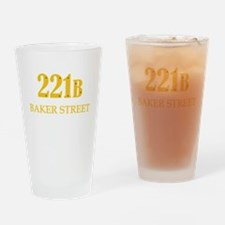221 B Baker Street Drinking Glass