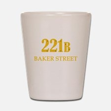 221 B Baker Street Shot Glass