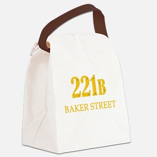 221 B Baker Street Canvas Lunch Bag