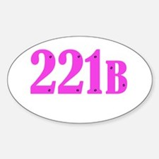 221 B Pink Decal