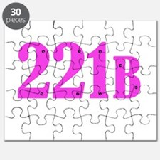 221 B Pink Puzzle