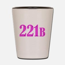 221 B Pink Shot Glass