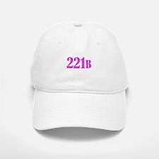 221 B Pink Baseball Baseball Baseball Cap