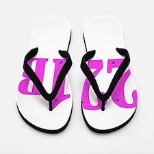 221 B Pink Flip Flops