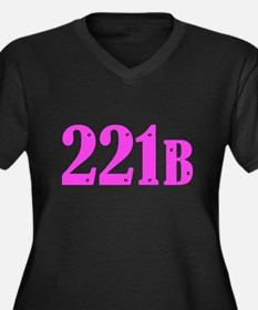 221 B Pink Plus Size T-Shirt