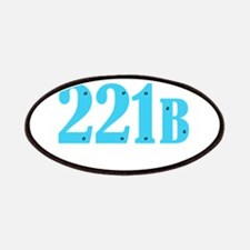 221 B Blue Patches