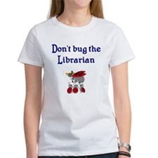 Librarian and Ladybugs Tee