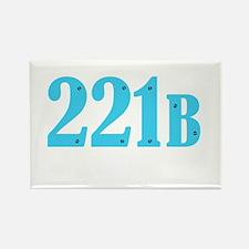 221 B Blue Magnets