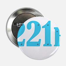 "221 B Blue 2.25"" Button"