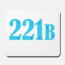 221 B Blue Mousepad