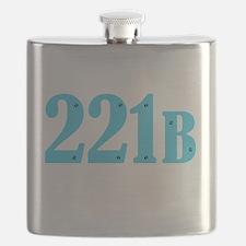 221 B Blue Flask