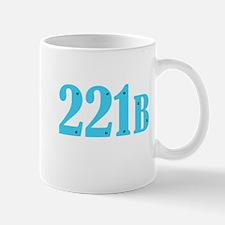 221 B Blue Mugs