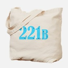 221 B Blue Tote Bag