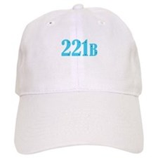 221 B Blue Baseball Baseball Cap
