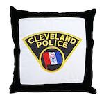 Cleveland Ohio Police Throw Pillow