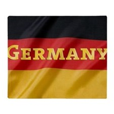 Flag of Germany, labeled Throw Blanket