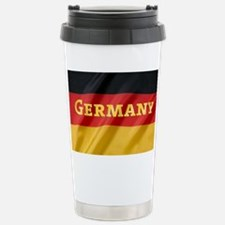 Flag of Germany, labele Stainless Steel Travel Mug