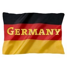 Flag of Germany, labeled Pillow Case