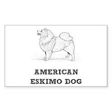 Eskimo Dog Decal