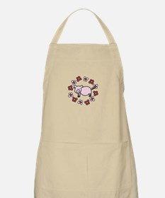 Flower Floral Miss Piggy Pig Animal Apron