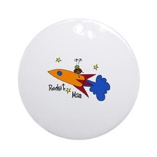 Rocket Man Ornament (Round)