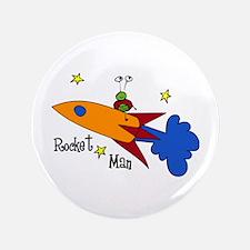 "Rocket Man 3.5"" Button"
