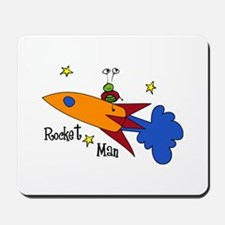 Rocket Man Mousepad