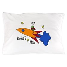 Rocket Man Pillow Case