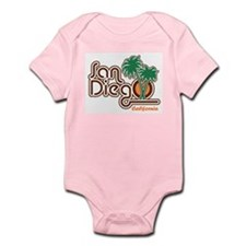 San Diego California Infant Bodysuit