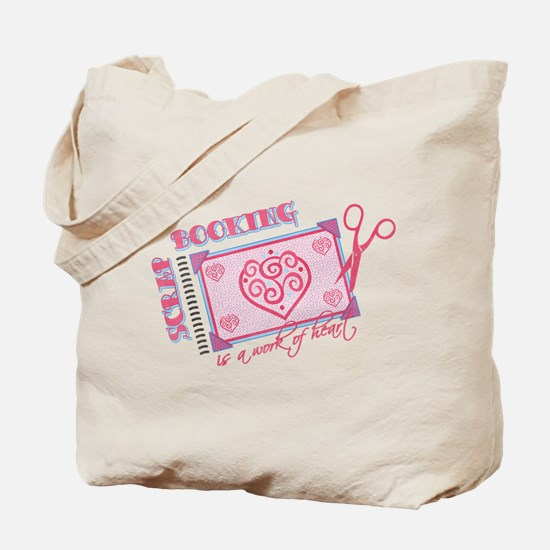 Work of Heart Tote Bag