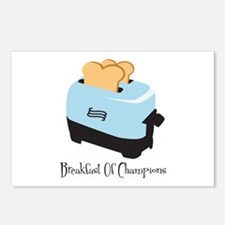 Breakfast of Champions Postcards (Package of 8)