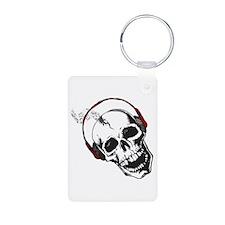 Dj Skull Keychains