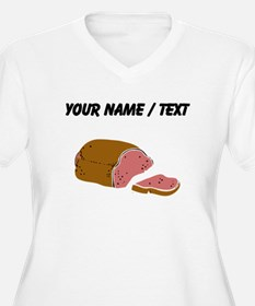 Custom Meatloaf Plus Size T-Shirt