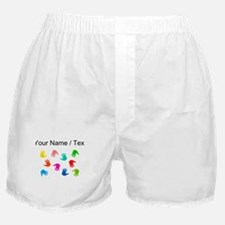Custom Hand Prints Boxer Shorts