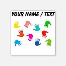 Custom Hand Prints Sticker
