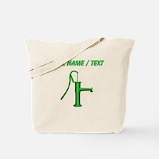 Custom Green Water Pump Tote Bag