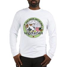 Love Animals Dont Eat Them Veg Long Sleeve T-Shirt