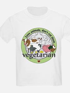 Love Animals Dont Eat Them Vege T-Shirt