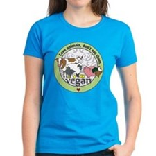 Love Animals Dont Eat Them Ve Tee