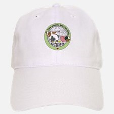 Love Animals Dont Eat Them Vegan Baseball Baseball Cap