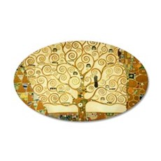 Gustav Klimt Tree Of Life Wall Decal