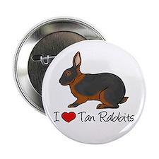 I Heart Tan Rabbits 2.25