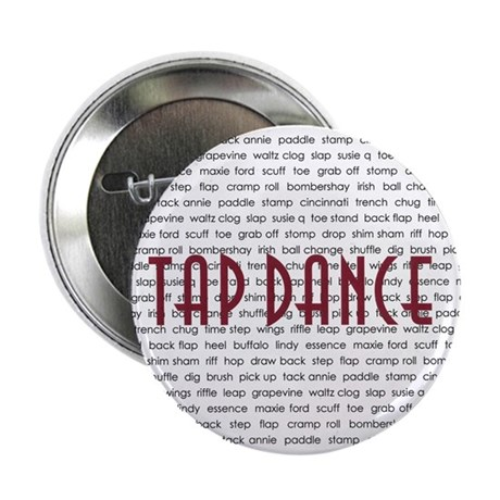 """Tap Dance 2.25"""" Button (100 pack)"""