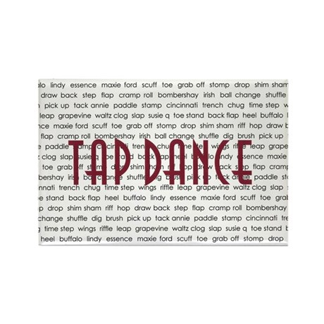 Tap Dance Rectangle Magnet (100 pack)