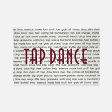 Tap Dance Rectangle Magnet