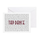 Tap dance Greeting Cards (10 Pack)